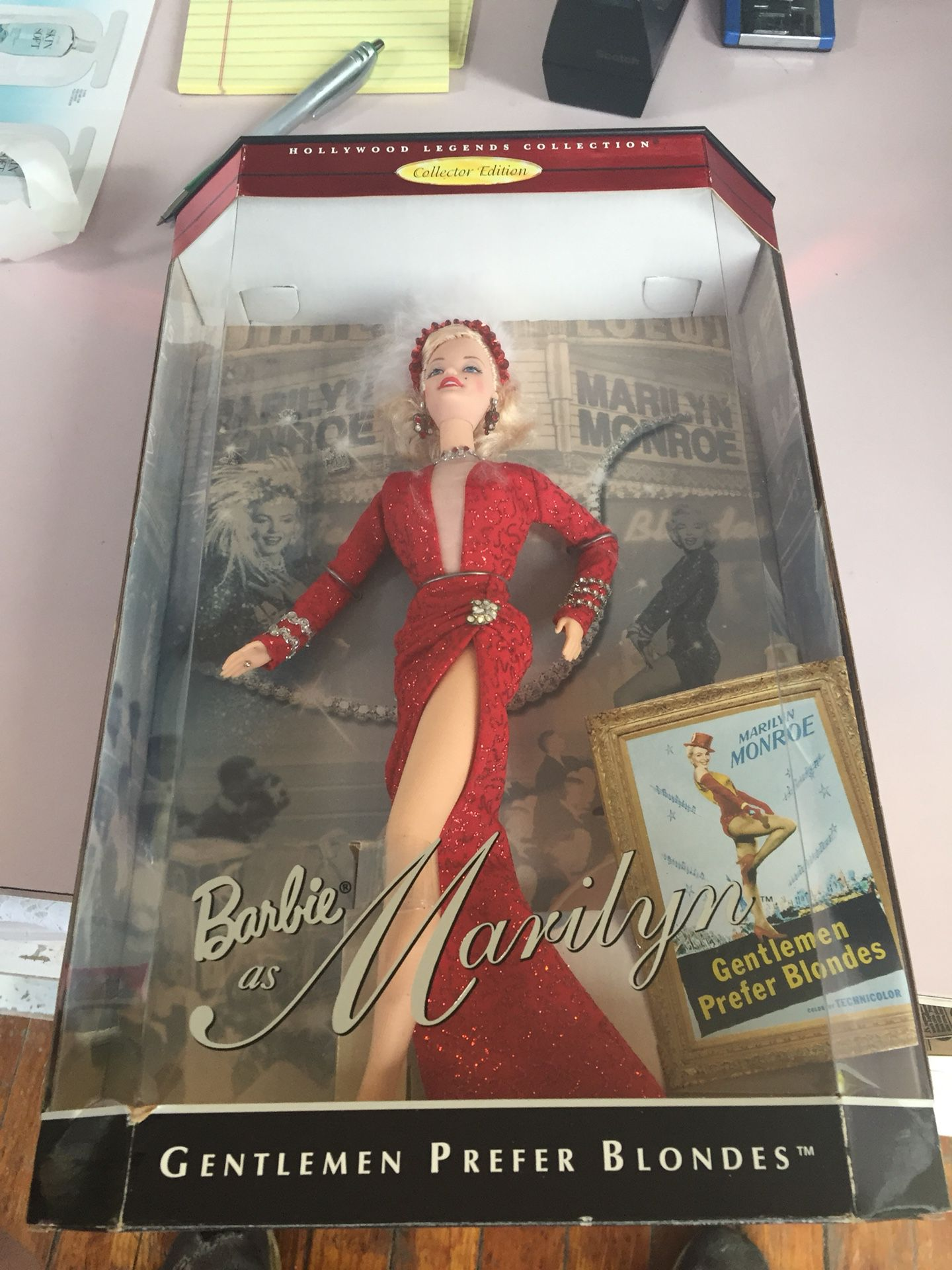 Barbie as Marilyn Hollywood Legends Collection