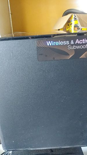 Samsung wireless subwoofer for Sale in Desert Hot Springs, CA