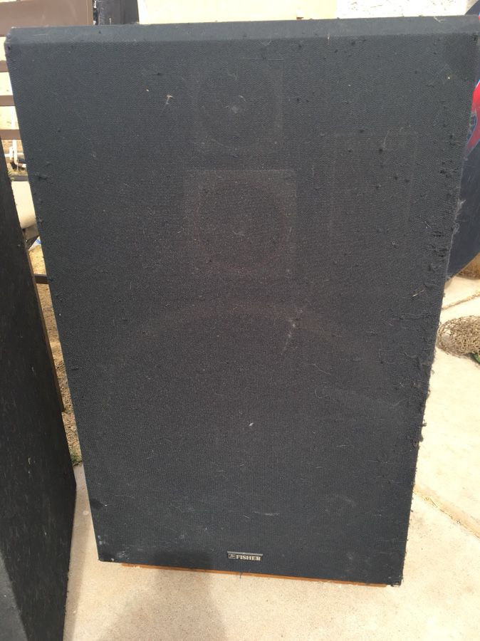 Fisher speakers