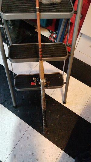 Photo Fishing pole