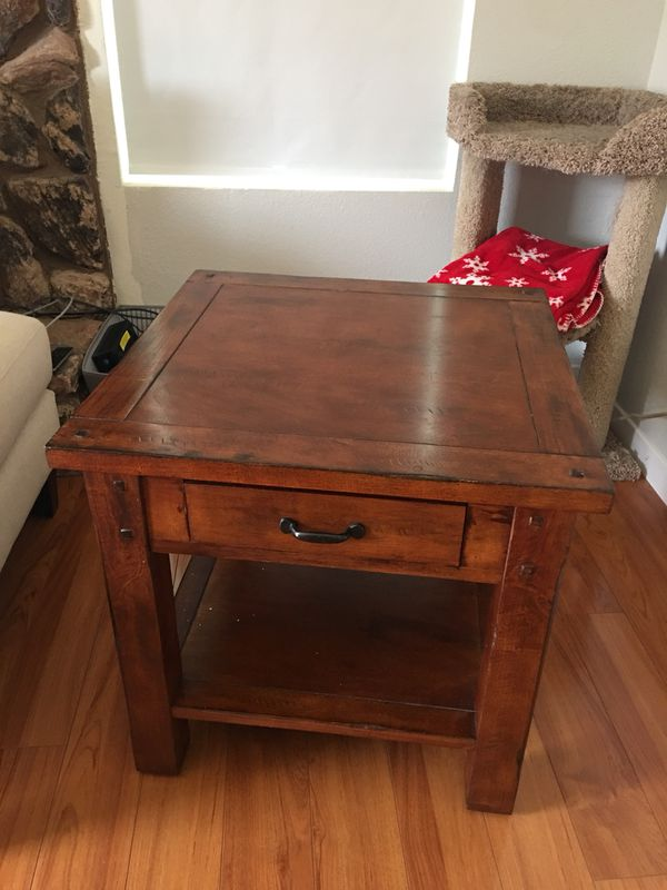 Madera Side Table From Cost Plus For Sale In Sacramento Ca Offerup