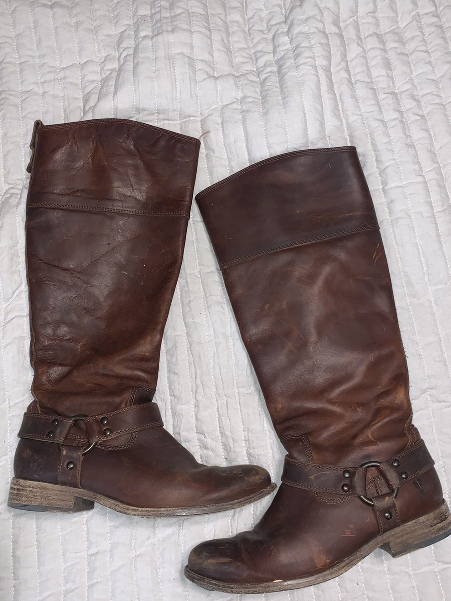 Women's Frye Riding Boots Size 6