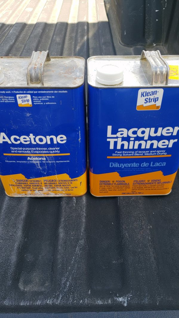 Acetone and lacquer thinner for Sale in Edgewood, WA - OfferUp