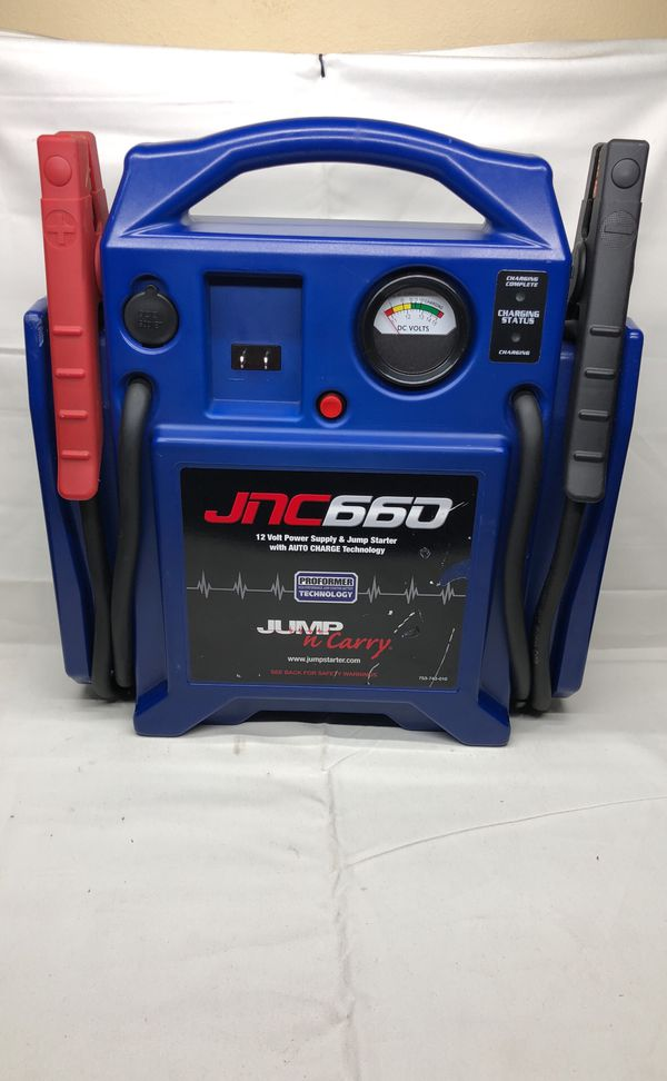 Jump N Carry Jnc660 >> Jump N Carry Jnc 660 1700 Peak Amp 12 Volt Jump Starter In Excellent Working Condition For Sale In Absecon Nj Offerup