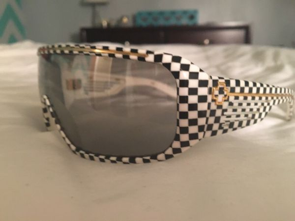 4a14d03c89 Spy Optic Checkered Tron Sunglasses for Sale in Colorado Springs