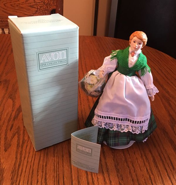 Avon International Doll Collection, Porcelain Irish Colleen, 1990 for Sale  in Ocala, FL - OfferUp