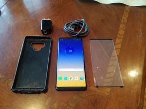 Samsung Galaxy Note 9 128gb At&t Unlocked for Sale in Rockville, MD