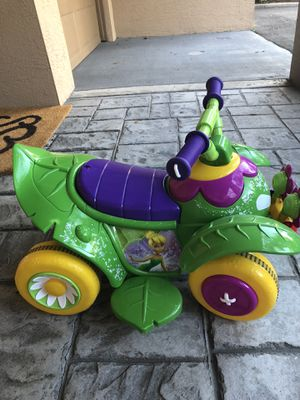 Kid Trax Tinkerbell ride on car for toddler. $30 for Sale in Tampa, FL