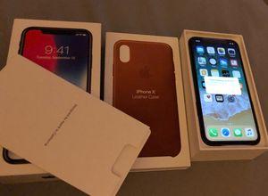 Iphone x unlocked for Sale in Azalea Park, FL