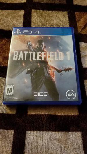 Battlefield 1 (PS4) for Sale in Phoenix, AZ