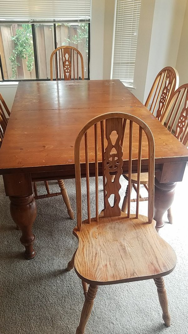 Round Table Pleasanton Ca.New And Used Dining Table For Sale In Pleasanton Ca Offerup