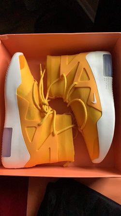 Nike Air Fear of God Yellow HOT!!! Thumbnail