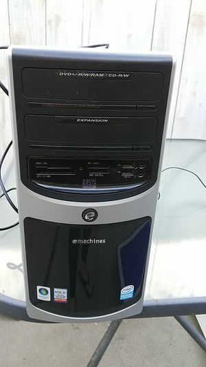 Emachines tower for computer for Sale in Inglewood, CA