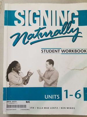Signing Naturally: Units 1-6 for Sale in NV, US