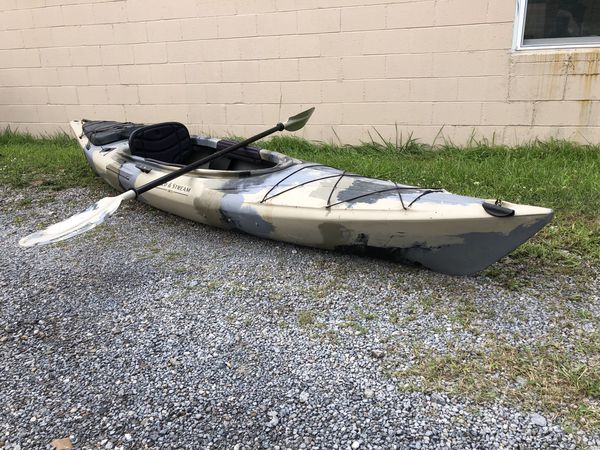 Field Stream Eagle Run 12 Ft Fishing Kayak W Paddle For Sale In