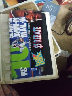 Space jam vhs with original papers Thumbnail