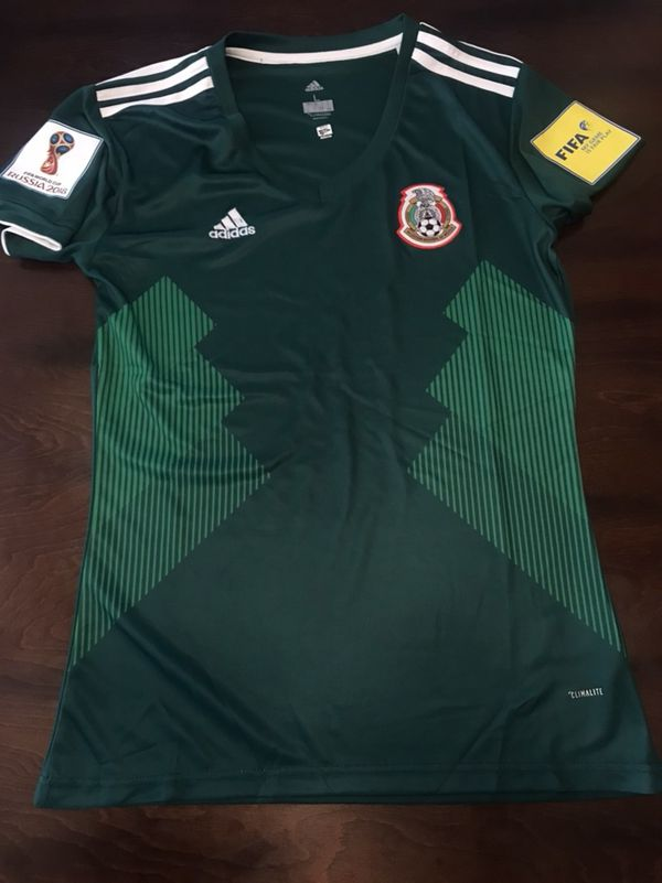 Mexico Soccer Home Green Women Jersey Size S 786d9a9472
