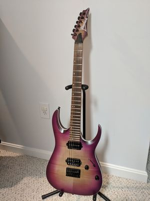 Ibanez RGA42FM electric guitar with upgrades for Sale in Leesburg, VA