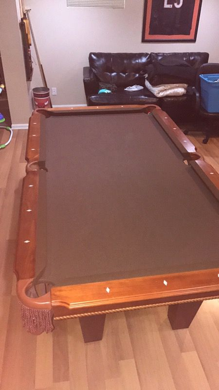 Fat Cat Ft Pool Table With Accuslate Surface For Sale In Elgin IL - Accuslate pool table