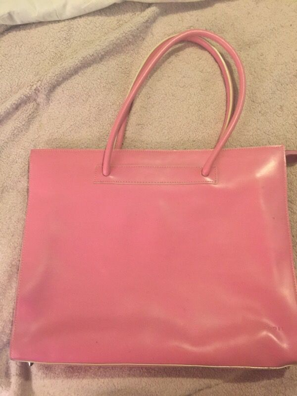 fd117a497b4d Lodis Audrey Breast Cancer awareness Pink Zip Top Tote bag548AU for ...