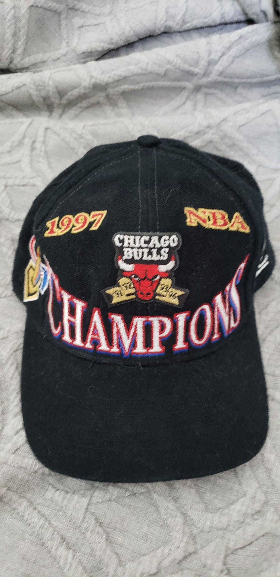 1997 Bulls NBA Championship hat