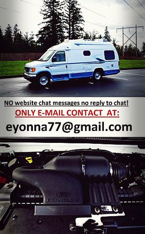For sale Ford E350 Van motorhome full price listed RV! for Sale in Washington, DC