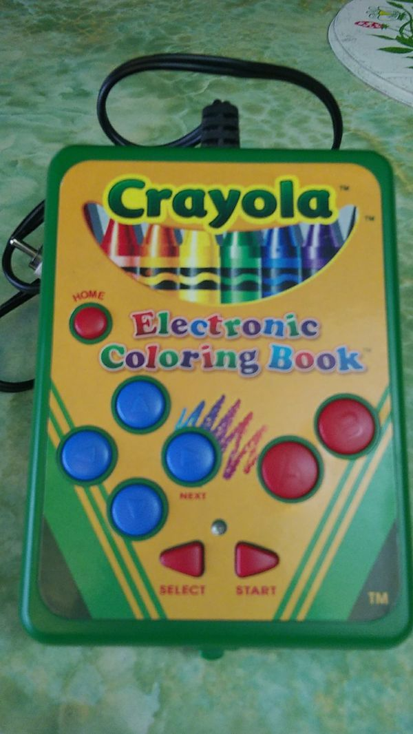 Crayola electronic coloring book for Sale in Olympia, WA - OfferUp