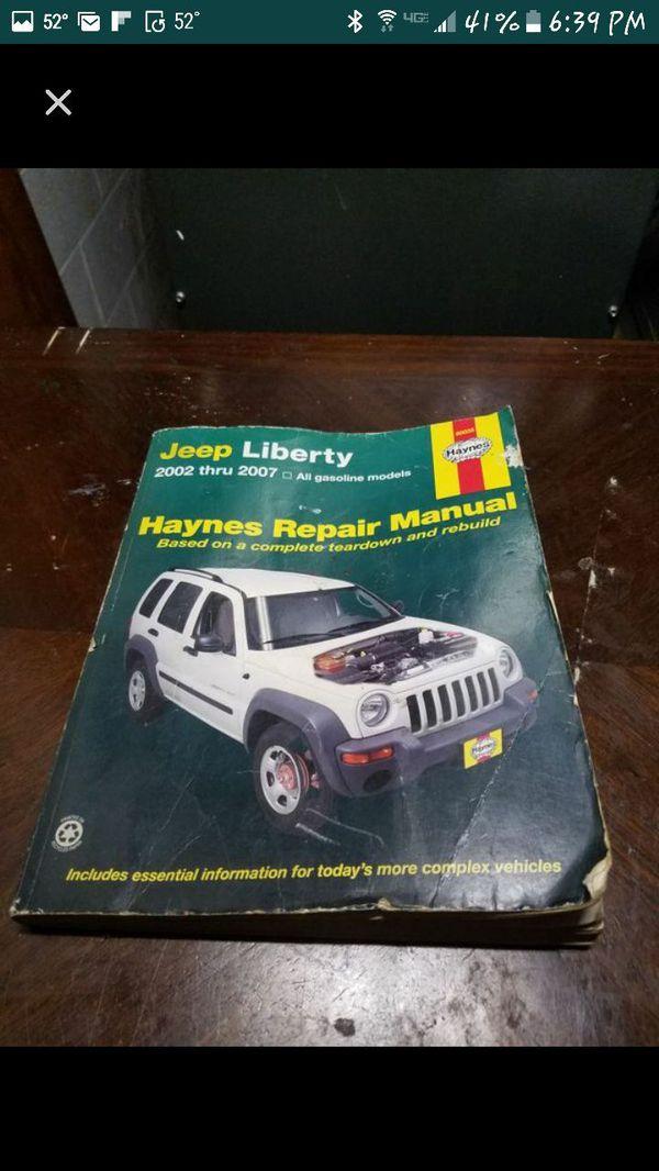 manual jeep liberty 2007