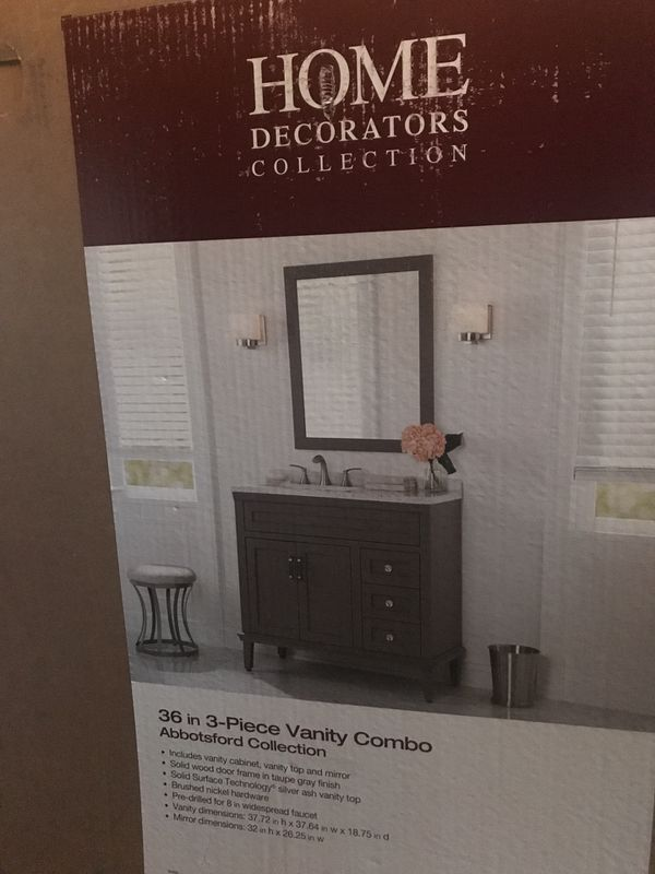 Home Decorators Collection 36 In 3 Piece Vanity Combo Abbotsford Collection 220 For Sale In Kennesaw Ga Offerup