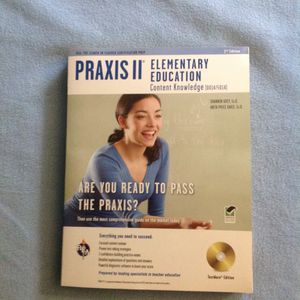 Praxis II Elementary Education - Content Knowledge Study Guide w/DVD for Sale in Philadelphia, PA