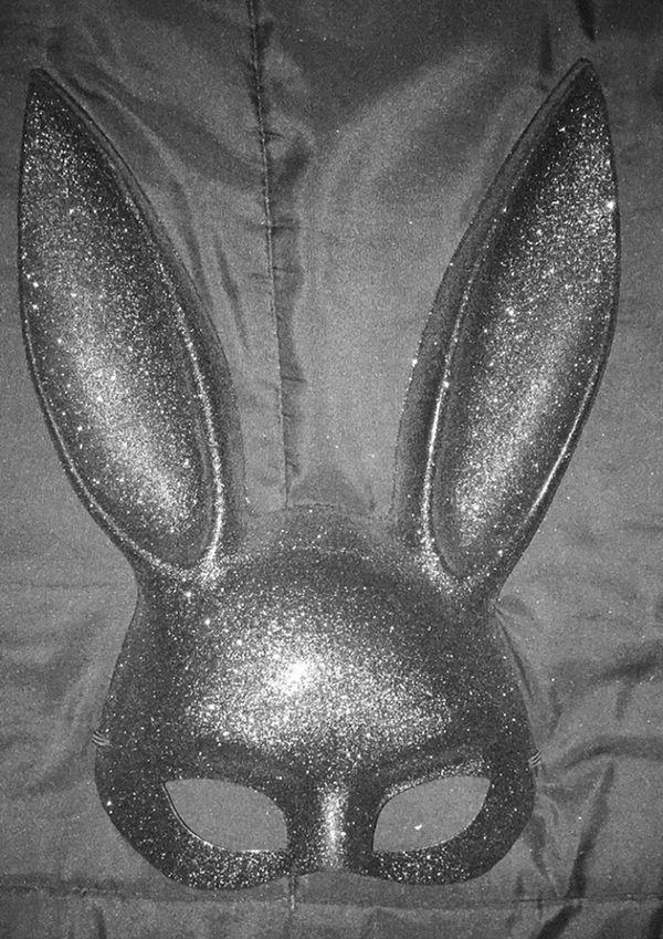 Glitter Bunny Mask