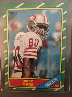 Jerry Rice Topps Rookie Card #161 for Sale in Clermont, FL