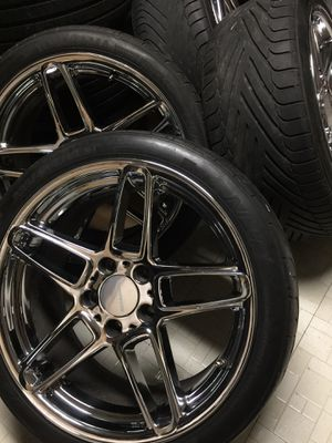 """18"""" AC Schnitzer Type 3 BMW 5x120 Wheels Rims for Sale in Silver Spring, MD"""
