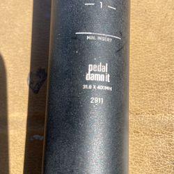 NINER Seat Post  31.6 X 400mm For Mountain Bikes Thumbnail