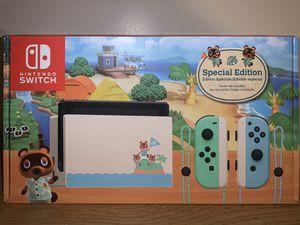 Photo Animal Crossing New Horizon Limited edition Nintendo switch