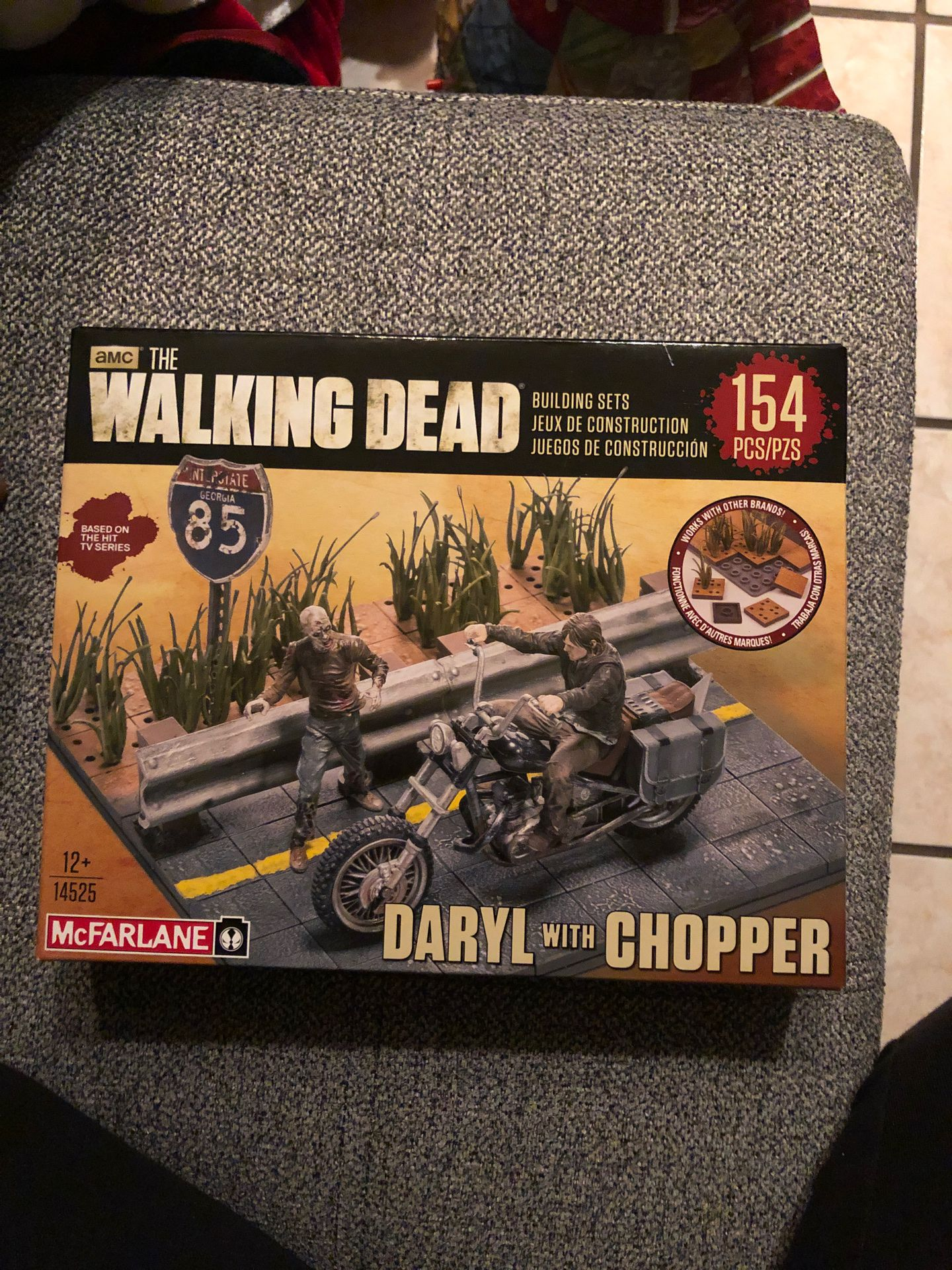 The walking dead Daryl with chopper
