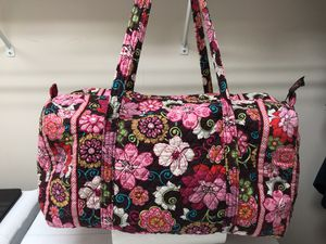 Vintage Vera Bradley Duffle/Tote Bag in Retired Pattern Mod Floral for Sale in Wake Forest, NC