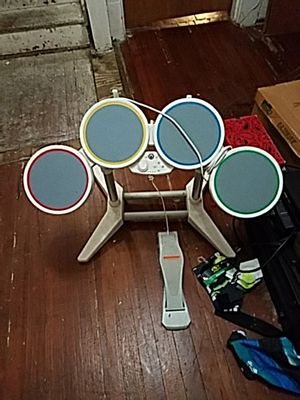 Rock band drums for wii for Sale in Tampa, FL