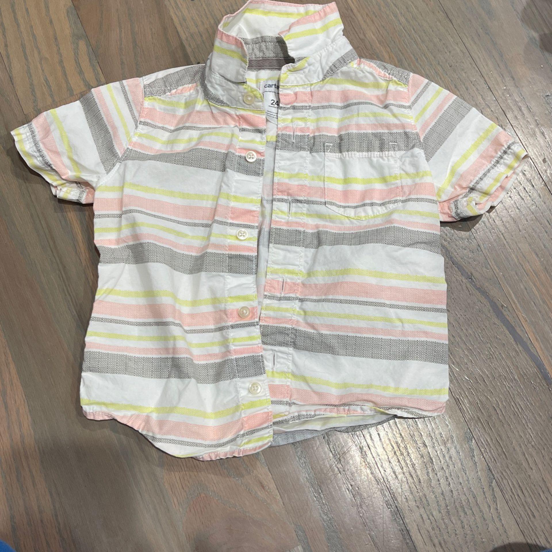 Carter's Shirt Size 24m