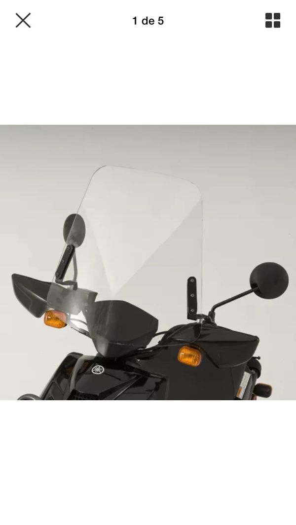 Windshield Windscreen for Yamaha Zuma 125 Scooter 2009-2018 good condition  for Sale in San Jose, CA - OfferUp