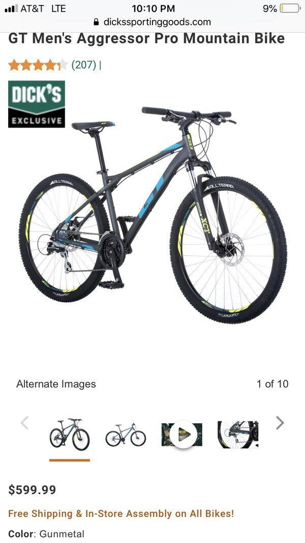 db1b48419 GT Men s Aggressor Pro Mountain Bike for Sale in Long Beach