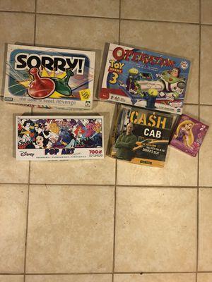 Board games and puzzles for Sale in Lincolnia, VA