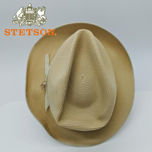 STETSON Stratoliner Florentine Milan straw Fedora 60 7-1 2 for Sale ... ddb0bf0771c