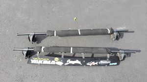 Yakima Q Tower Cross Bars + Wind shield for Sale in Sully Station, VA