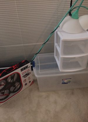Cheap storage lamp and drone for Sale in North Bethesda, MD