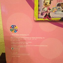 Disney Junior Minnie Book & Magnetic Pad W/magnetic Pen Thumbnail