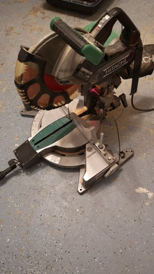 Hitachi 12 inch miter saw for Sale in Crownsville, MD