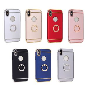 3 in 1 stage phone case with finger ring for iphone X Cover case for Sale in Sterling, VA
