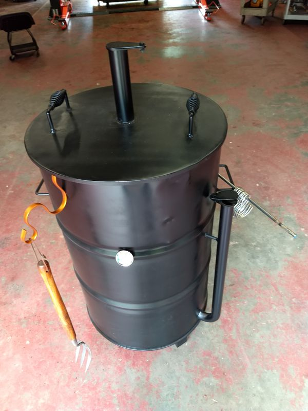 Ugly Drum Smoker Barrel 55 Gal Grill Or Bbq Pit For