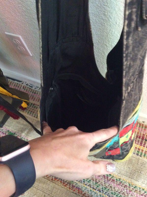 Peace sign satchel/purse